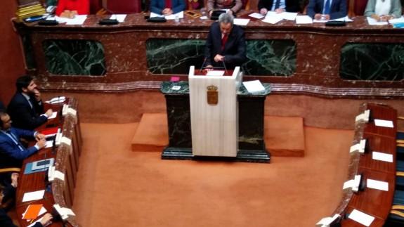 EN DIRECTO | Pleno de la Asamblea Regional sobre aprobación del techo de gasto de los Presupuestos de 2019
