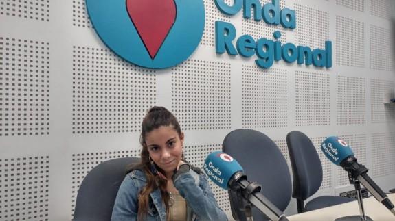 Martina D'Antiochia en Onda Regional