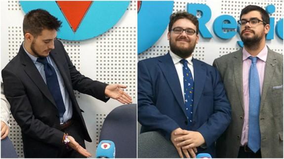 Samuel Pérez, Kiko Torres y Sergio Melero