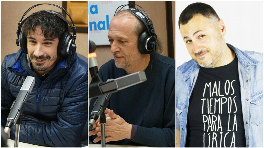 Fran Ropero, Román García y Juan Antonio Sánchez JASS
