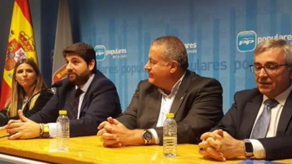 El presidente de la Comunidad, Fernando López Miras, se reúne el jueves con Mariano Rajoy