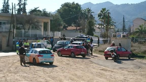 Lugar donde se produjo el suceso en Beniaján