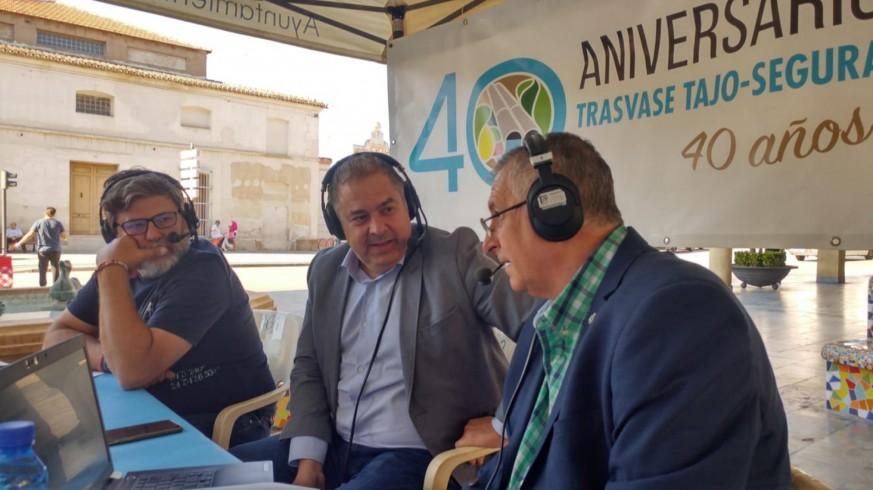MURyCÍA. #40Aniversario Trasvase. Entrevista a Lucas Jimenez, presidente del Sindicato de Regantes