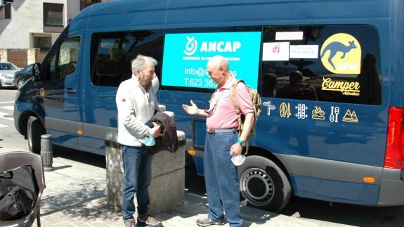 César Pérez de Tudela a la izquierda y Santiago Gómez a la derecha