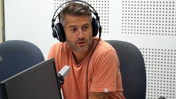 """Eugenio González en """"La Contraportada"""" con Lucía Hernández"""
