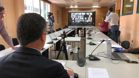 El director del INFO, Diego Rodríguez, preside el Comité de Seguimiento de Vigilancia Coronavirus.