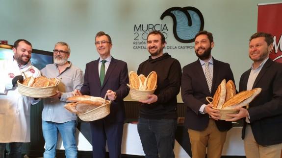 Presentación del 'Pan Murciano' en Oficina central de 'Murcia Capital Gastronómica'. ORM