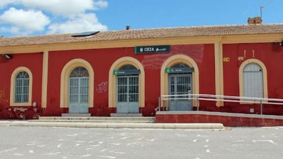 Estación de tren de Cieza. AYTO DE CIEZA