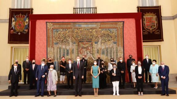 Acto de entrega de las Medallas de Oro al Mérito en las Bellas Artes