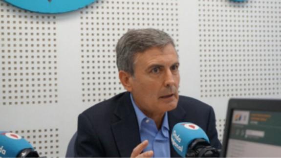 Pedro Saura, en una entrevista pasada en Onda Regional