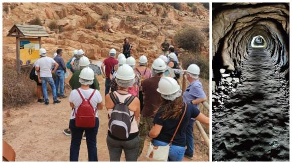Las cuevas de Torre Pacheco vuelven a ofrecer visitas teatralizadas. Fotos: AYTO. DE TORRE PACHECO