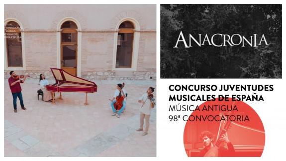 PLAZA PÚBLICA. El grupo Anacronía, seleccionado para el concurso de juventudes Musicales de España