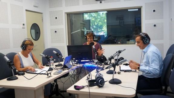 La alcadesa de Campos del Río, María José Pérez y el alcalde de Ulea, Víctor Manuel López