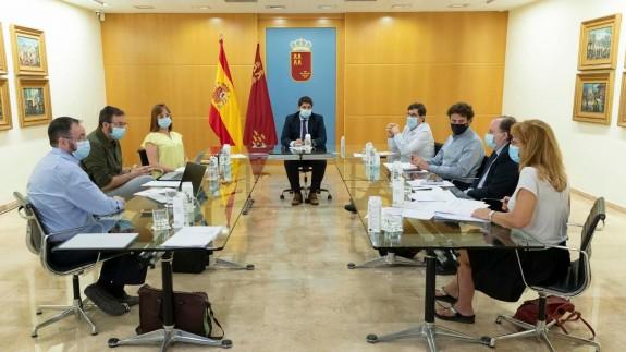 Reunión del comité de seguimiento Covid-19