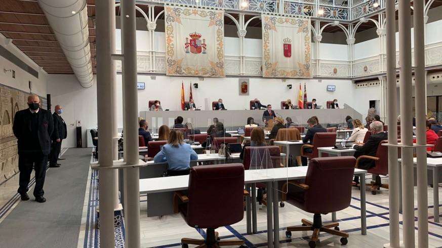Debate de la moción de censura el pasado mes de marzo en la Asamblea