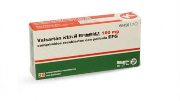 Medicamento con el principio 'Valsartán'