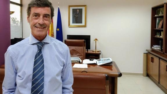 Antonio Sánchez Solís, delegado del Gobierno