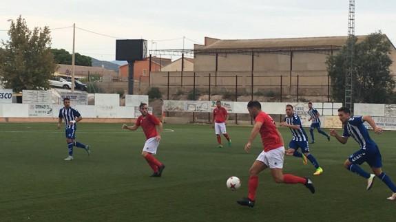 Una de las imágenes del Lorca B-Deportiva Minera (foto:ORM)