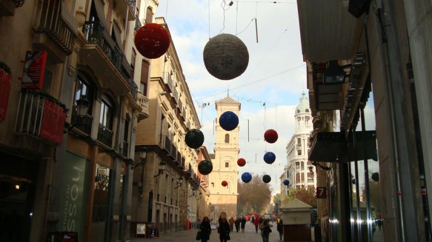 Comercios del centro de Murcia