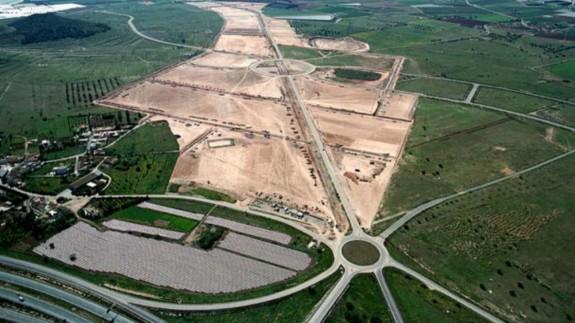 Vista panorámica del polígono de Los Camachos. Foto AYUNTAMIENTO DE CARTAGENA.