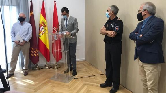 José Ballesta durante la rueda de prensa. ORM
