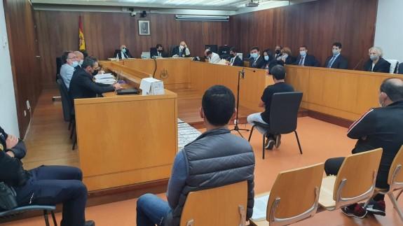 Declaración del guardia civil en el macrojuicio contra le narcotráfico en Cartagena. ORM