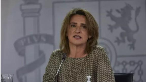 La vicepresidenta cuarta y ministra para la Transición Ecológica y el Reto Demográfico, Teresa Ribera. EUROPA PRESS