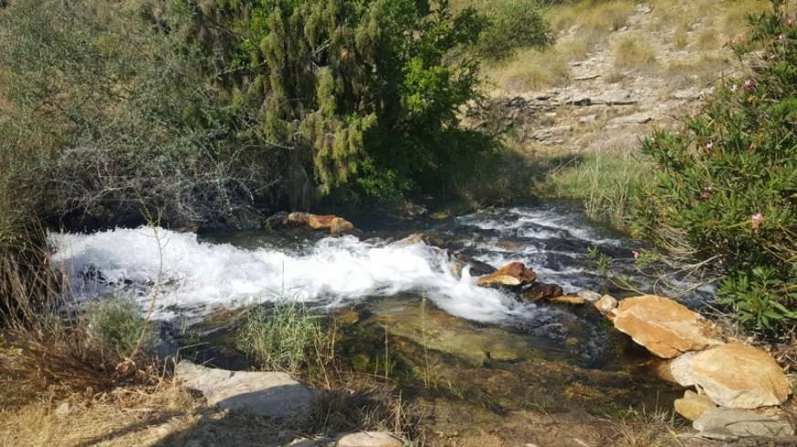 Uno de los pozos del Sinclinal de Calasparra.