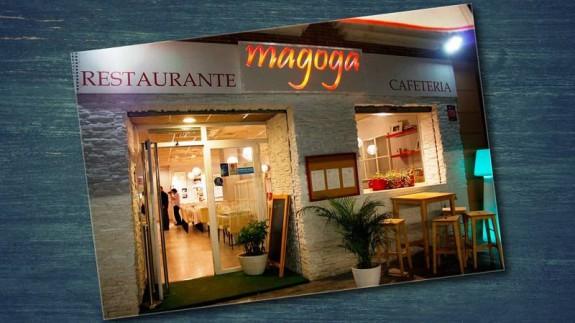 Fachada del restaurante Magoga en Cartagena