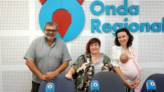 José Ramón Salcedo, Clara García Sáenz de Tejada y Rocío Arregui Montoya