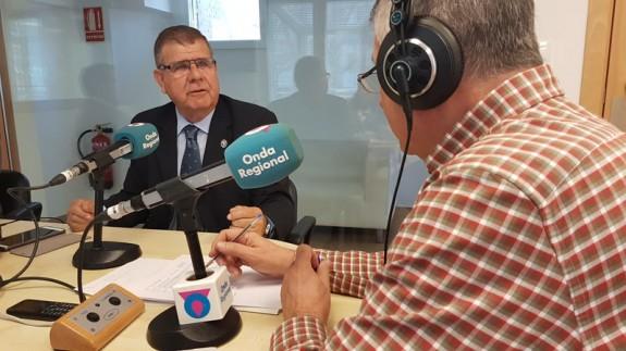 Pedro Solano en Onda Regional Cartagena