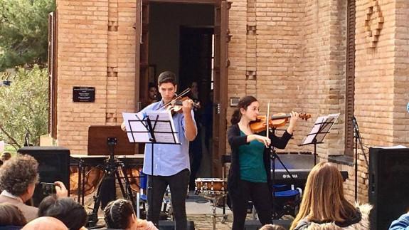 Imagen del concierto de hoy en San Pedro del Pinatar