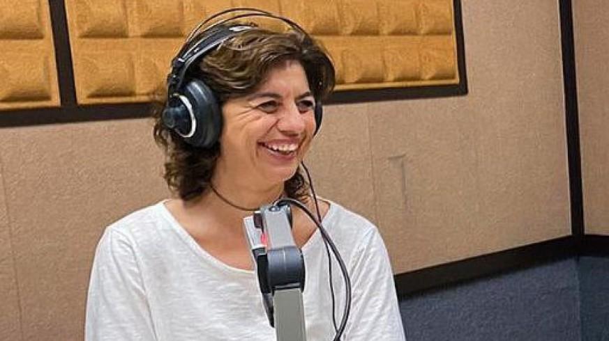 """María López en en programa """"La contraportada"""" con Lucía Hernández"""