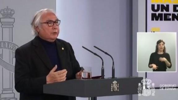 Manuel Castells. Web Moncloa