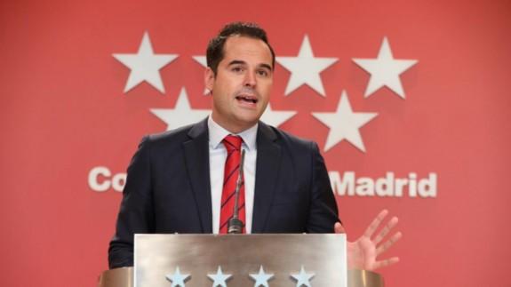 Ignacio Aguado. EUROPA PRESS/M.FERNÁNDEZ. POOL