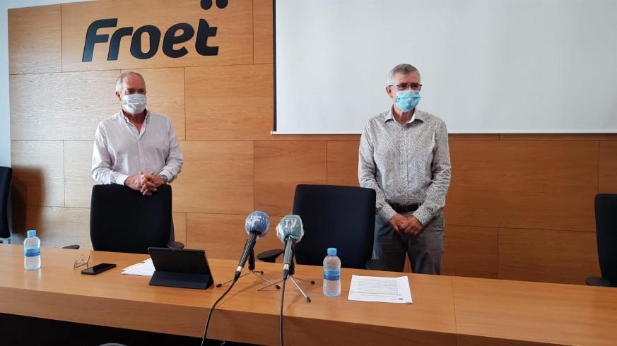 Dirigentes de FROET amenazan con echar el cierre dos días. Foto: FROET