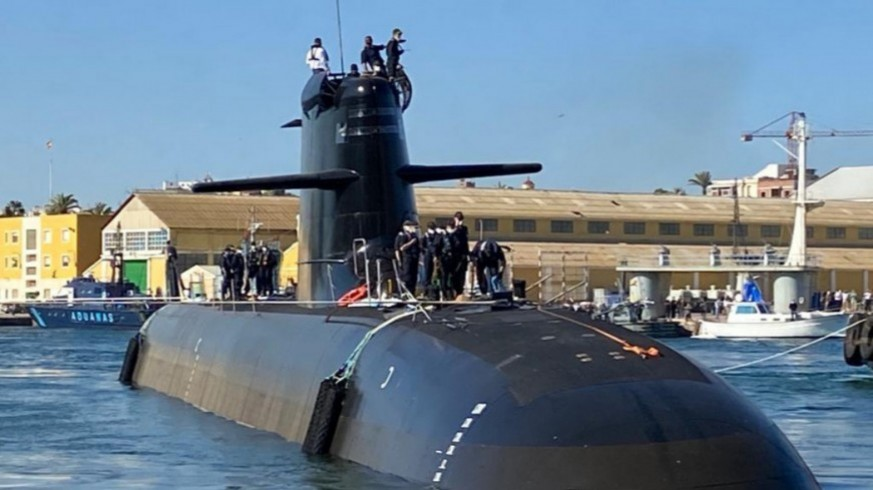 Submarino S-81 'Isaac Peral'