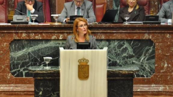 Consa Martínez en una imagen de archivo