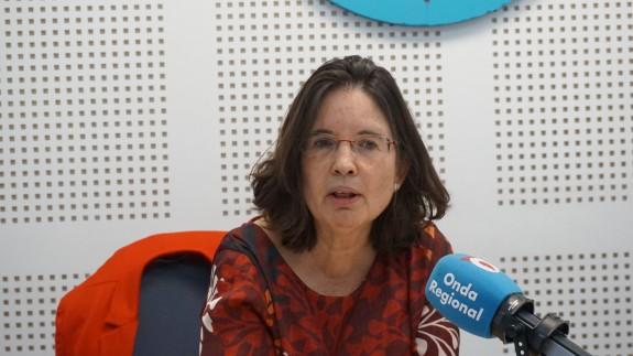 Mª José Catalán en los estudios de ORM