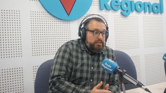 Pedro Luengo en los estudios de ORM