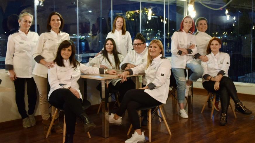 Las cocineras de Águilas que organizan la cena solidaria
