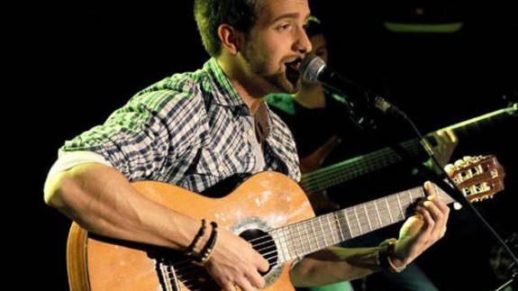 Pablo Alborán durante un concierto