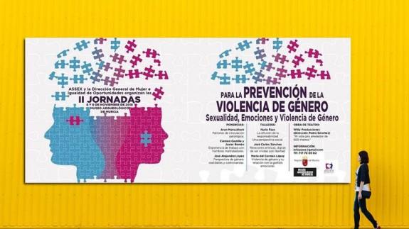 Cartel de las II Jornadas para la prevención de la violencia de género