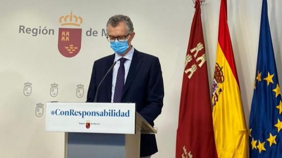 Imagen de archivo del consejero de Salud, Juan José Pedreño