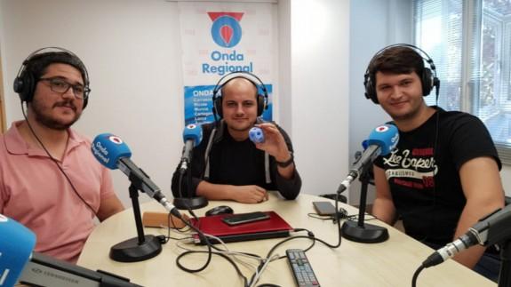 Joaquín Cruces, Víctor Martínez y Mariano Fernández en una imagen de archivo de ORM