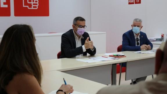 Reunión del PSOE con profesionales de la salud mental. PSRM-PSOE