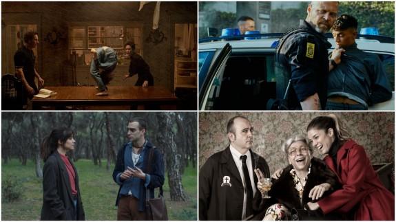 Fotogramas de cuatro películas