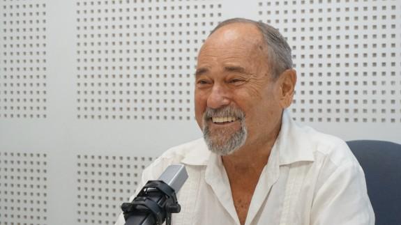 Julián Pérez Templado durante la entrevista en Plaza Pública