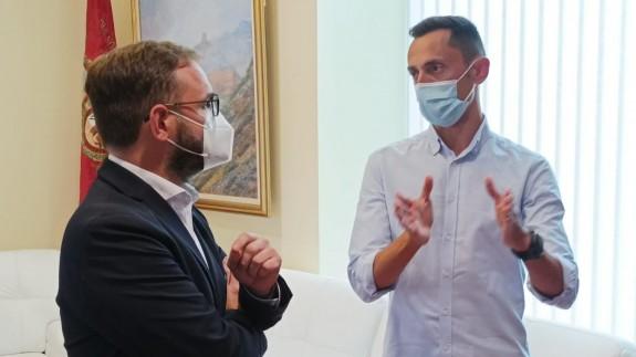 Diego José Mateos y José María Sánchez Martínez. Foto: Alfonso Martínez