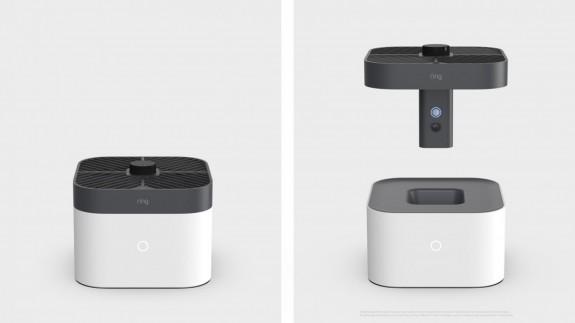 El dron de Amazon para vigilancia en interior de domicilios